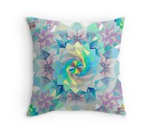 Origami Kaleidoscope Throw Pillow