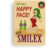 Smilex Poster Canvas Print