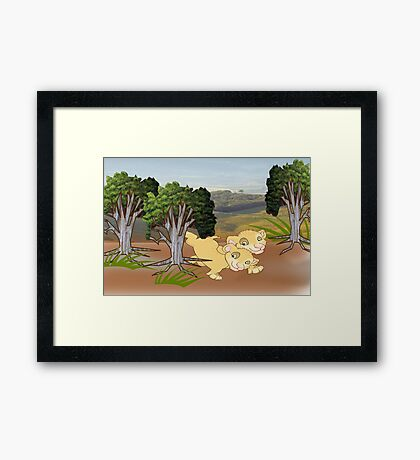 On the look Out for Mum (2013 Views) Framed Print