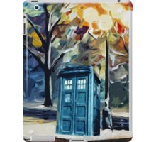 Tardis Painting iPad Case/Skin