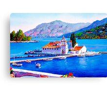Tranquil Island Canvas Print