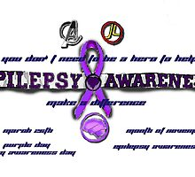 Epilepsy Awarness by DiaAmor718
