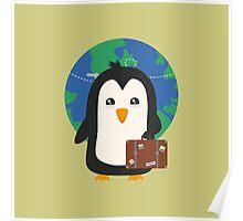 Penguin world traveler   Poster
