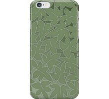 Leaves - earth symbol, 4 elements iPhone Case/Skin