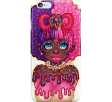 Dripping Donut Girl iPhone Case/Skin
