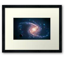 Barred Spiral NGC 1365 Framed Print