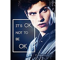 It's ok, Isaac. Photographic Print