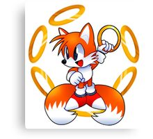 Classic Tails with rings Canvas Print