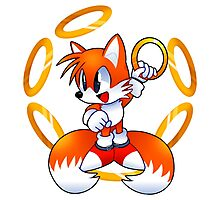 Classic Tails with rings Photographic Print