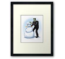 Frankenstein's Monster's Monster Framed Print