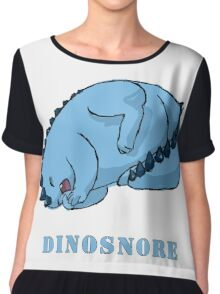 Dinosnore Chiffon Top