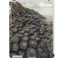 In the world of hexagonal stones iPad Case/Skin