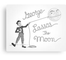 George Lassos the Moon Metal Print