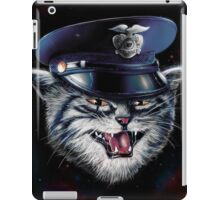 Police Cat iPad Case/Skin