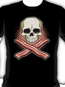 Skull and Cross Bacon T-Shirt