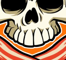 Skull and Cross Bacon Sticker