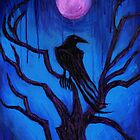 The Raven Nevermore by Roz Abellera Art