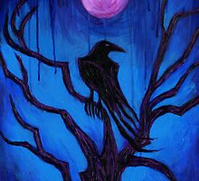 The Raven Nevermore by Roz Barron Abellera