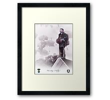 Special Forces- One day I will fly Framed Print