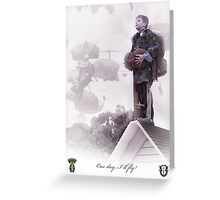 Special Forces- One day I will fly Greeting Card