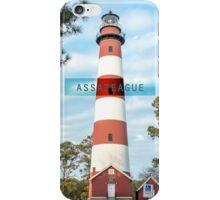 Assateague Light. iPhone Case/Skin