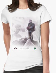 Airborne Ranger- One day I will fly Womens Fitted T-Shirt