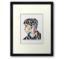 His name, Merlin. Framed Print