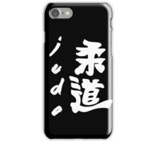 JUDO WHITE iPhone Case/Skin