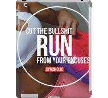 Run From Your Excuses iPad Case/Skin