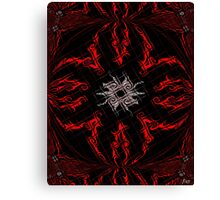 The Spider's Web Canvas Print
