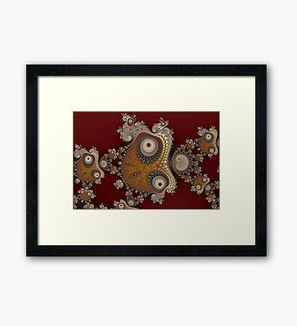 Glynns and Spirals No. 1 Framed Print