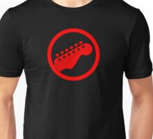 Red guitar Unisex T-Shirt