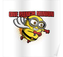 minion one punch Poster
