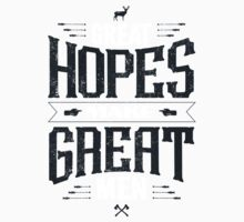 GREAT HOPES MAKE GREAT MEN One Piece - Long Sleeve