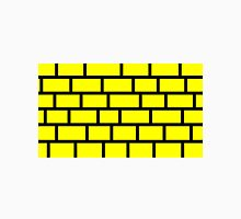 Yellow Brick - Black Lines Unisex T-Shirt