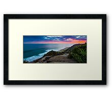 Ocean Trail Framed Print