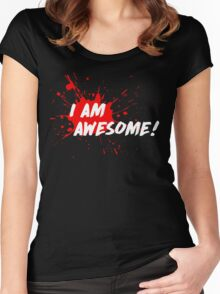 I am Awesome! Women's Fitted Scoop T-Shirt