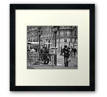 Parisian Love Framed Print