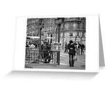 Parisian Love Greeting Card
