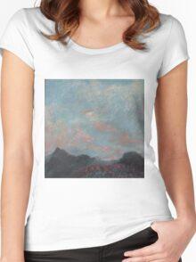 GANADO SUNRISE Women's Fitted Scoop T-Shirt