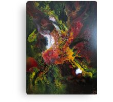 Incredible Abstract Orchid Canvas Print