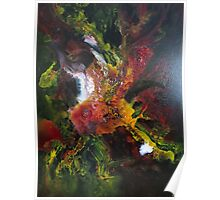 Incredible Abstract Orchid Poster