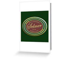 Vintage selmer Greeting Card