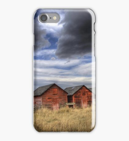 Five Red Barns iPhone Case/Skin