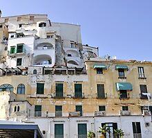 Buildings in Amalfi, Italy by avresa