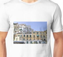 Buildings in Amalfi, Italy Unisex T-Shirt