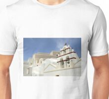 Architecture in Oia, Santorini, Greek Islands Unisex T-Shirt
