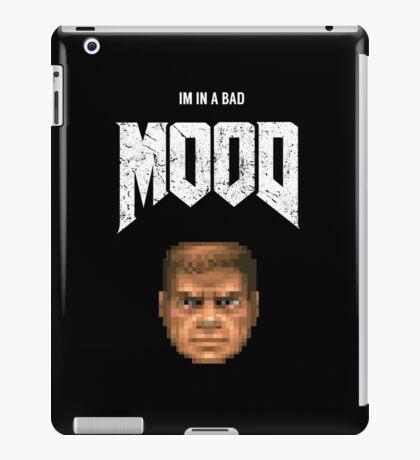 Bad MOOD iPad Case/Skin