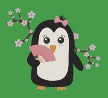 Japanese Penguin   One Piece - Short Sleeve