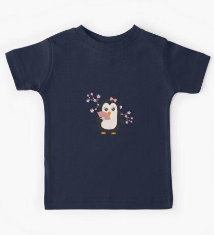 Japanese Penguin   Kids Tee